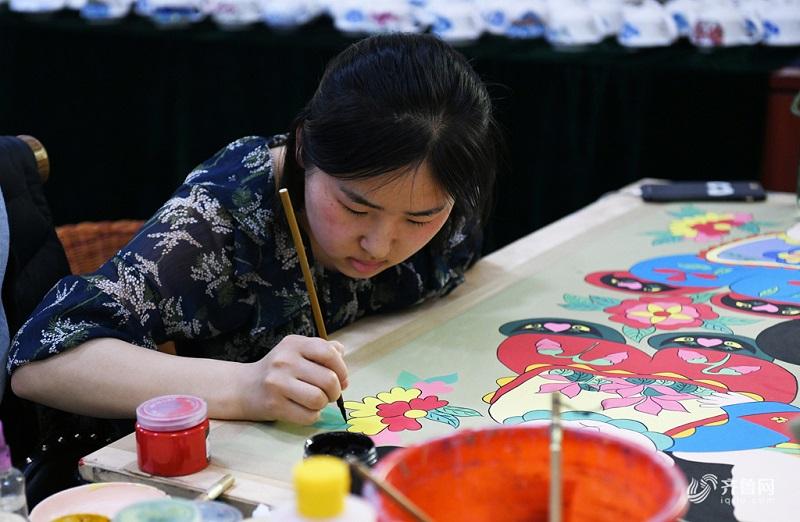 杨家埠青年艺人