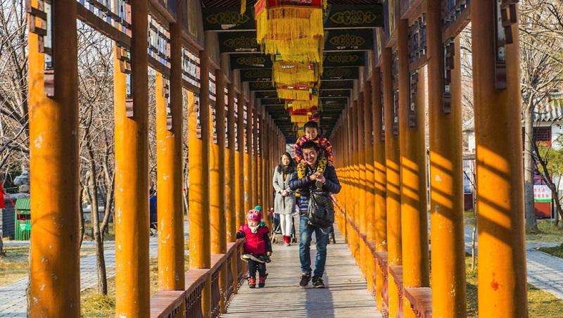 游览杨家埠