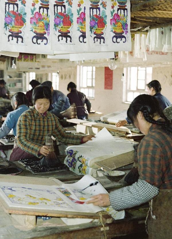 中国年画之乡--杨家埠