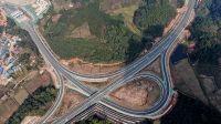 景(景洪市)海(勐海县)高速公路试通车 云南西双版纳实现县县通高速公路
