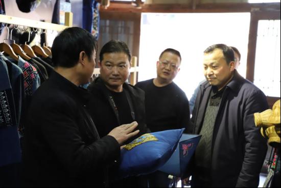 省非物质文化遗产保护中心领导到黎平县开展非遗工作调研 (2)