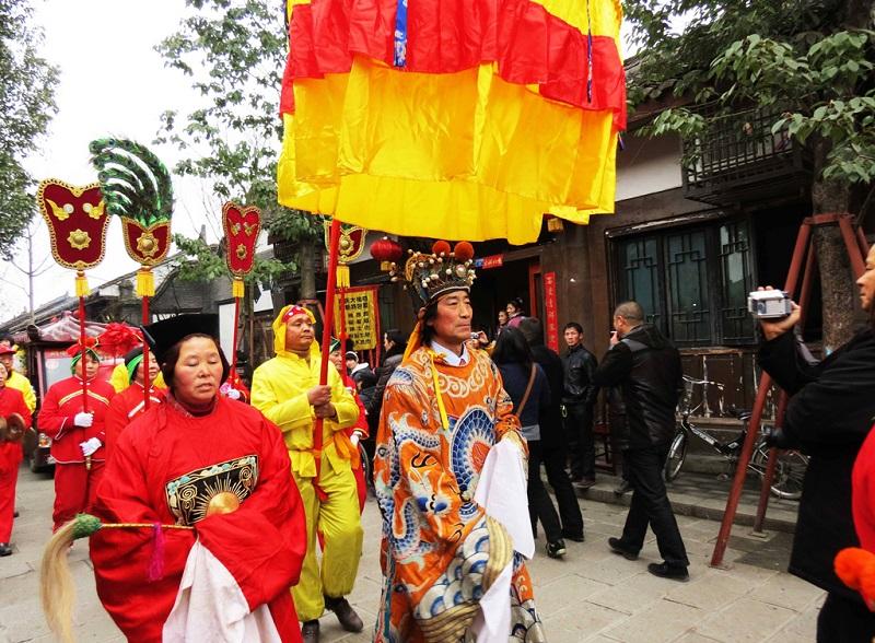 阆中春节之乡