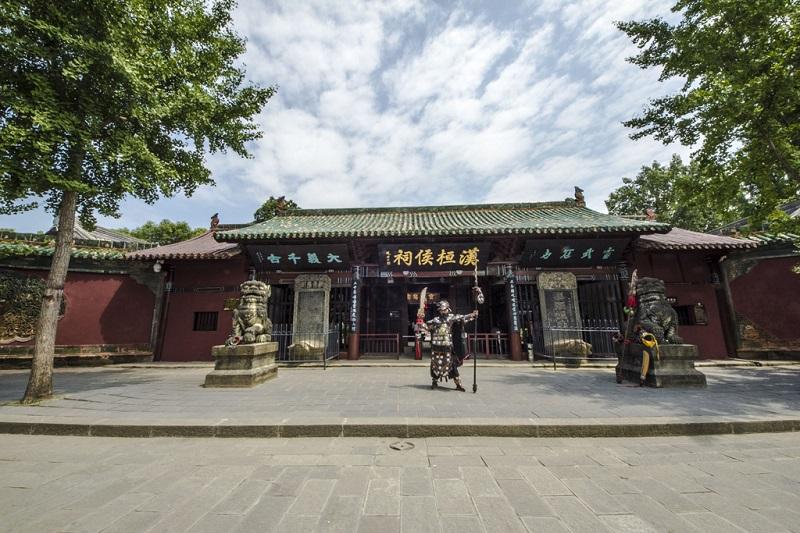 阆中古城张飞庙