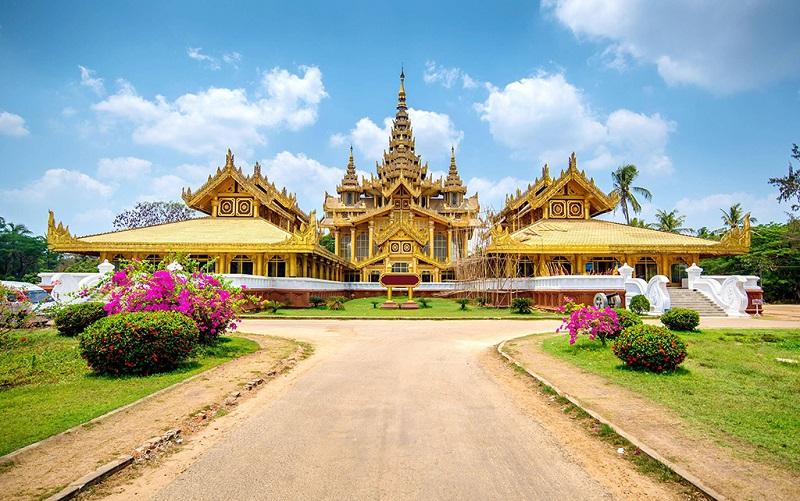 美丽的缅甸风情