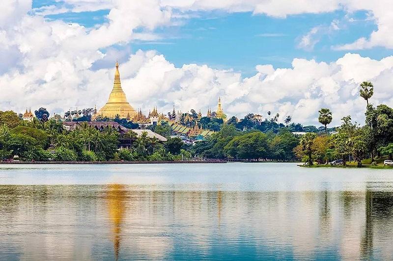 缅甸的母亲河依洛瓦底江