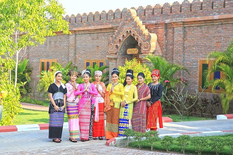 缅甸姑娘们