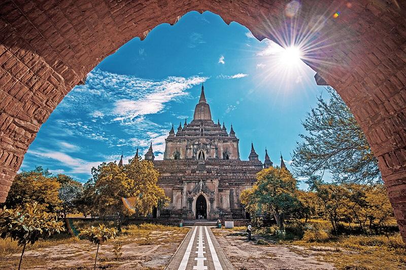 缅甸蒲甘阿南达寺