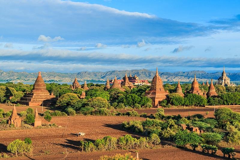 万塔之国-缅甸蒲甘塔林
