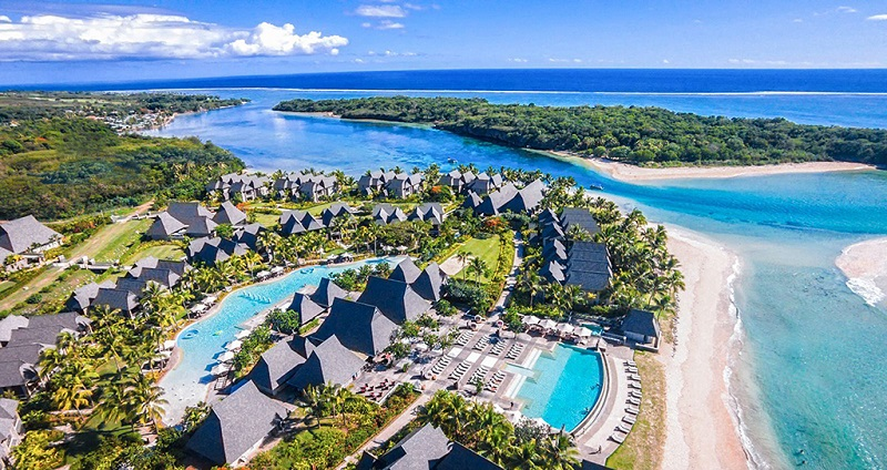 斐济度假村鸟瞰