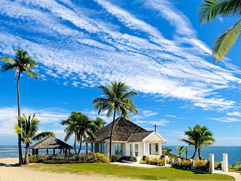 斐济喜来登度假村美景