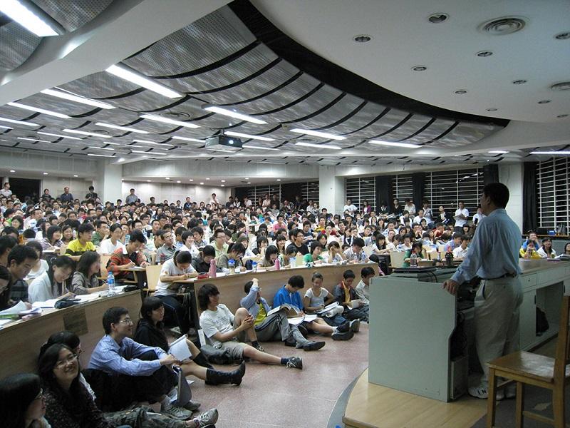 北京大学的课程每次都是座无虚席