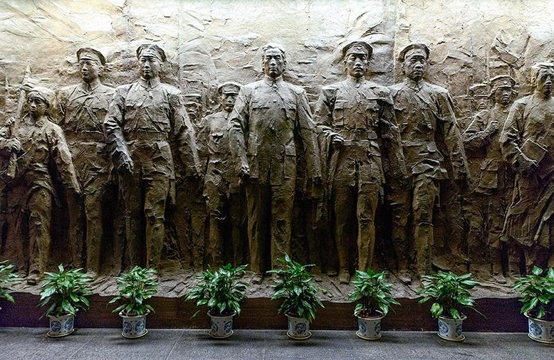 八一南昌起义英雄群雕