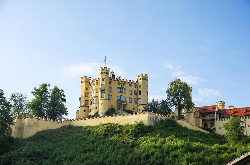 卢森堡美丽的城堡
