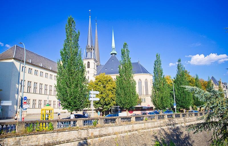卢森堡之秋色