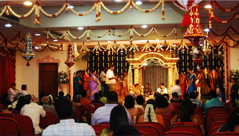 印度人的婚礼现场