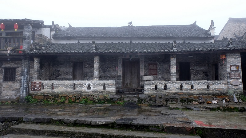 古色古香的瑶王屋