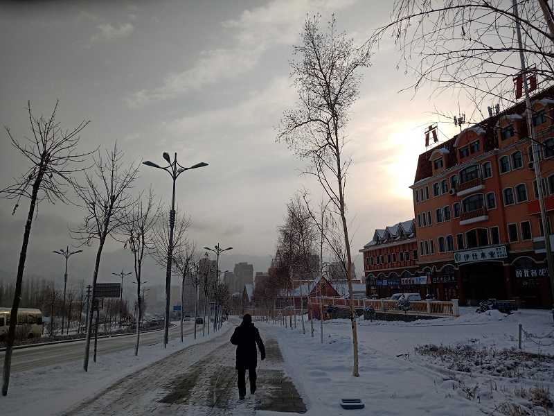 四国六方城街景