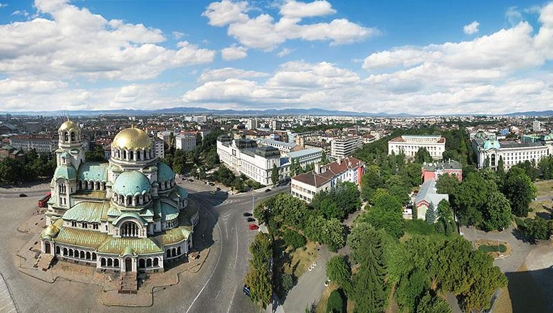 美丽的保加利亚索菲亚