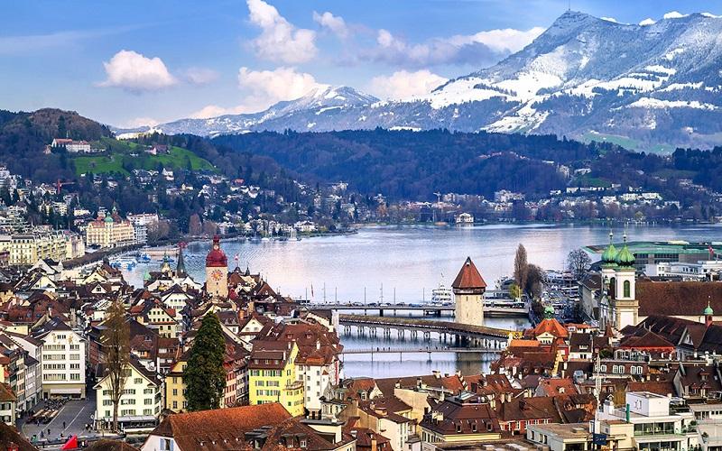 瑞士卢塞恩风景