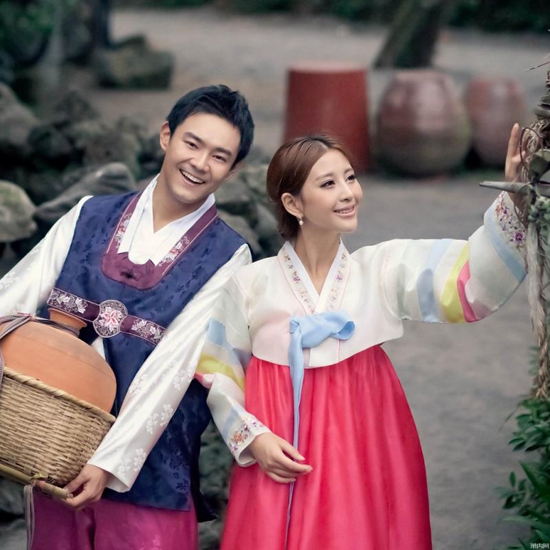 韩国民族服饰