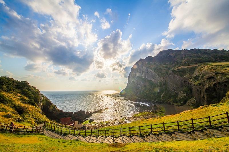 济州岛春色美景