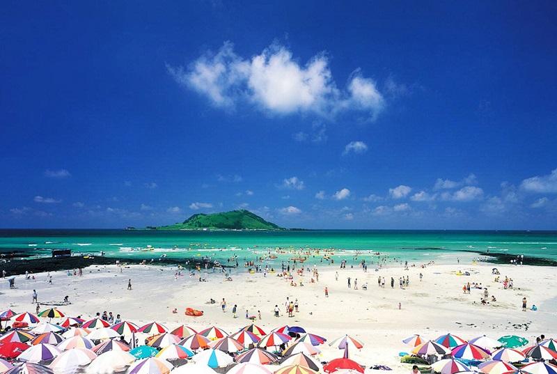 济州岛海滨浴场