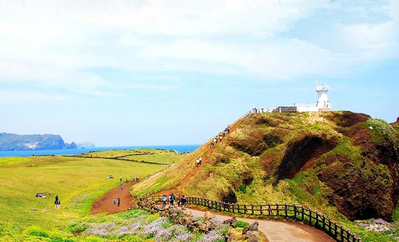 济州岛汉拿山观景台