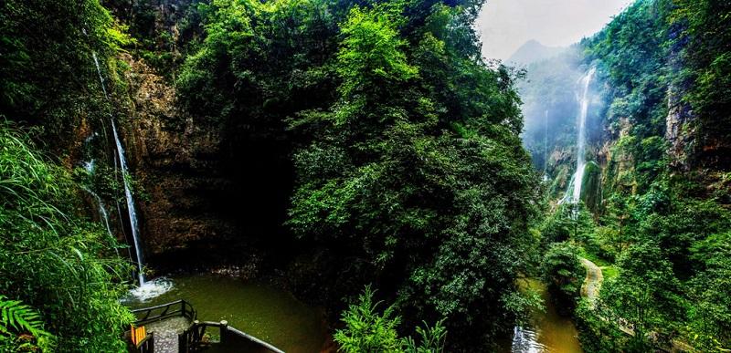 绥阳双门峡风景区