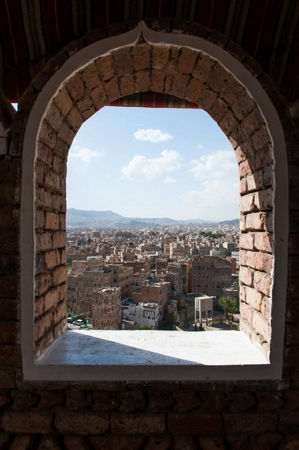 也门萨那古城远眺