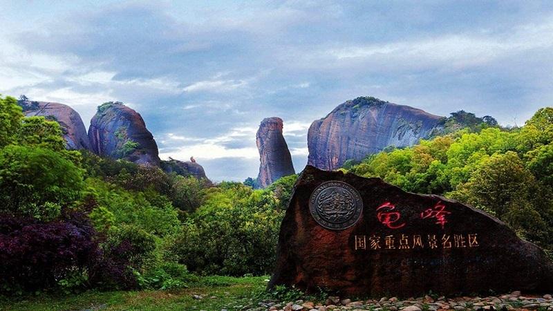 龙虎山龟峰景区