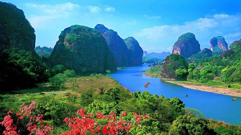 龙虎山仙水岩景区