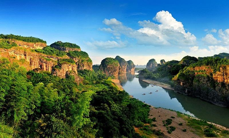 中国最美的丹霞美景龙虎山