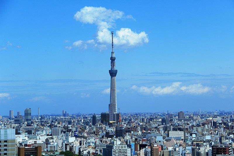 东京地标--举世闻名的东京塔