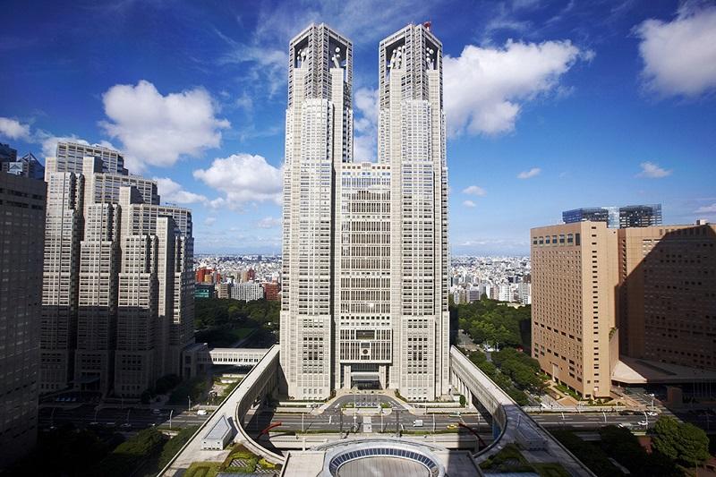 东京都厅政府所在地-市政厅大楼