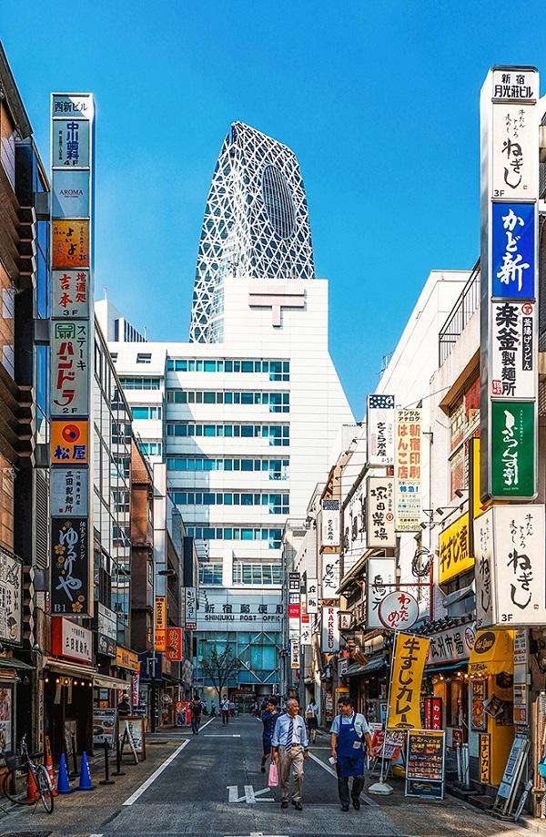 新宿是东京都的行政中枢
