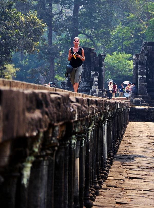柬埔寨游人