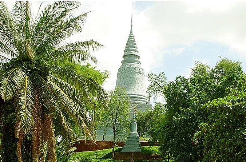 金边塔山寺之塔