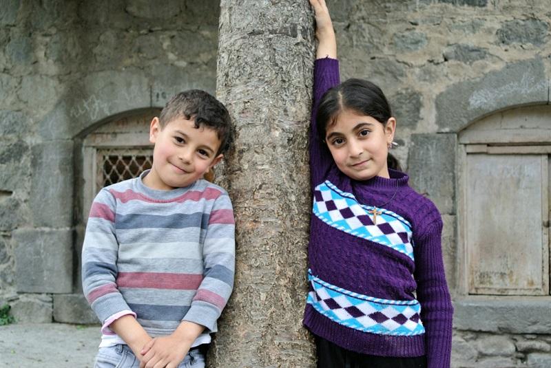 格鲁吉亚儿童