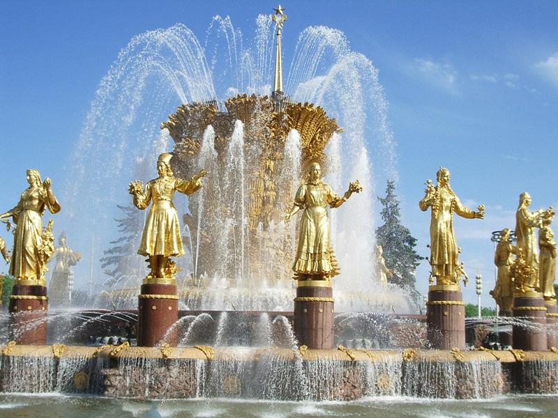 美丽的喷泉