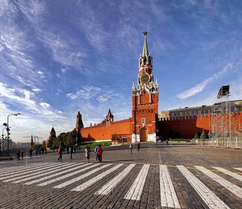 莫斯科红场景色