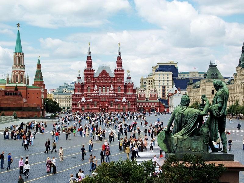 莫斯科瓦西里升天大教堂