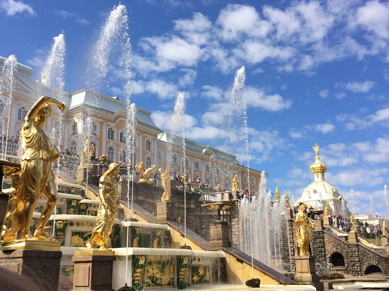 圣彼得堡夏宫夏日