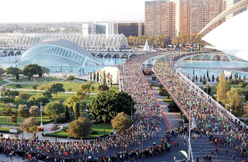 巴伦西亚马拉松赛