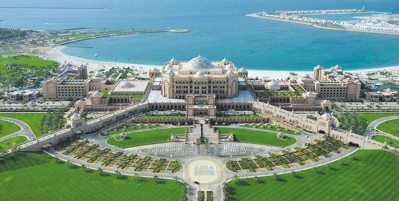 全球唯一的八星级酒店-阿布扎比的皇宫酒店