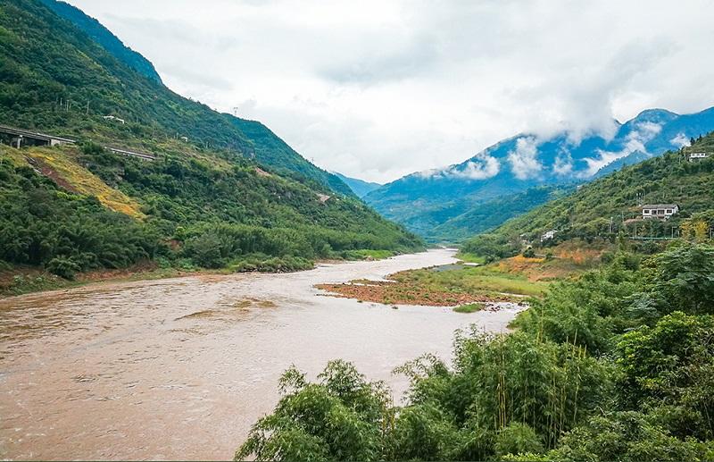 贵州赤水河风光美景