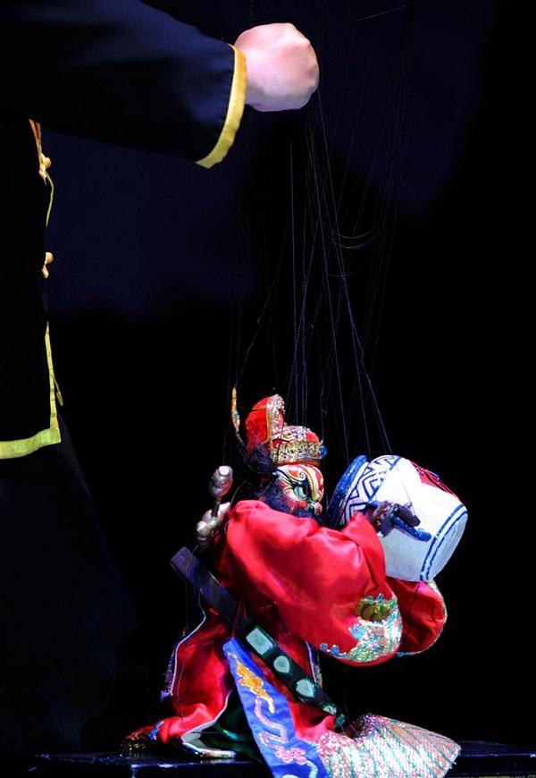 文化遗产:提线木偶