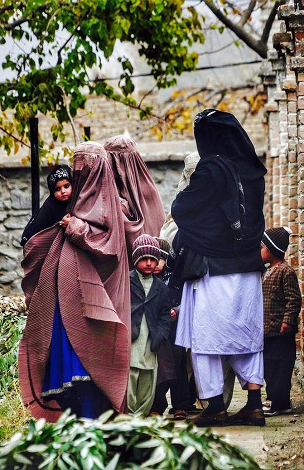 阿富汗瓦罕走廊妇女儿童
