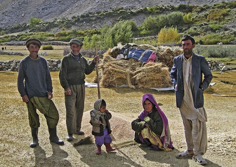 吉尔吉斯村人