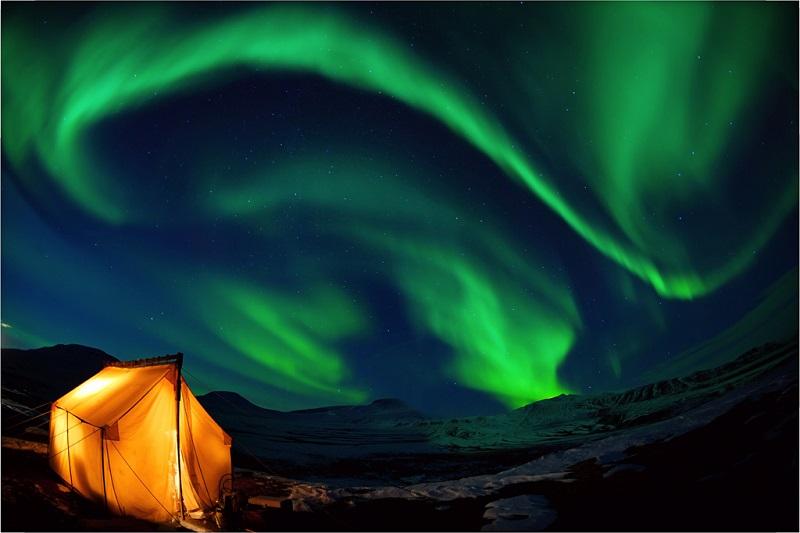阿拉斯加北极光