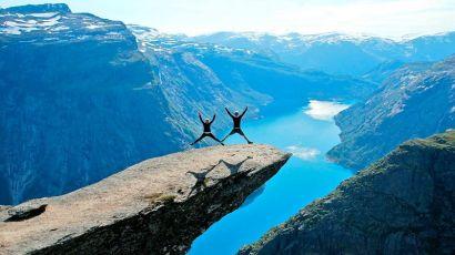 地球上无与伦比的美丽——挪威峡湾(图)